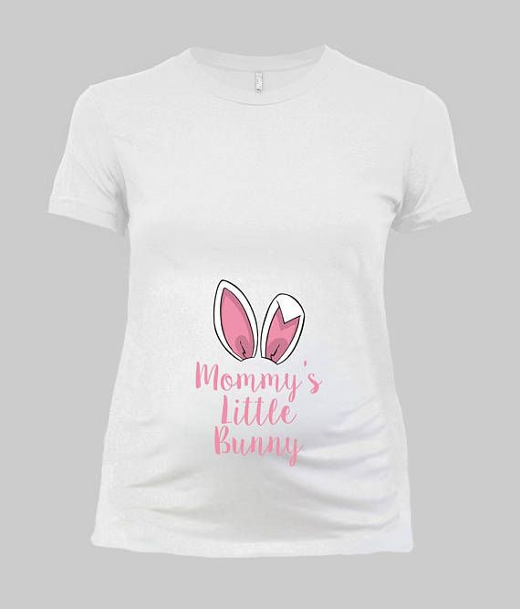 Easter Maternity Shirt Pregnancy Announcement Baby Reveal
