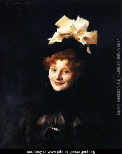 Madame Paul Escudier - John Singer Sargent - www.johnsingersargent.org