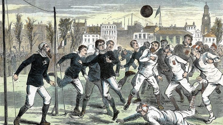 Los ingleses jugaban fútbol en la Edad Media y ellos le dieron las formas y reglas que lo convirtieron en el deporte más popular del mundo.