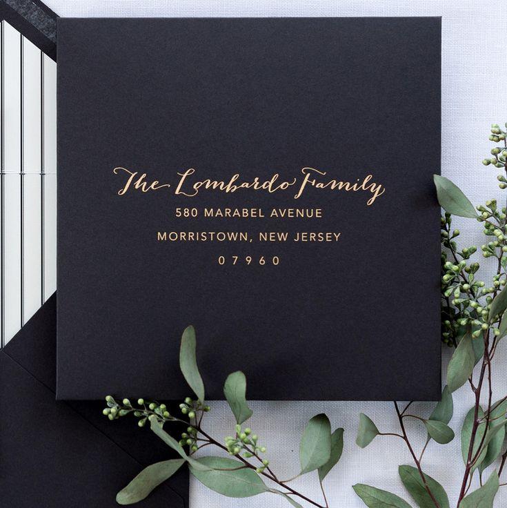 Little Black Dress Paperie 778 best Wedding