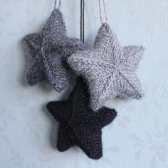 Sterren breien | draadenpapier | Gratis patroon van Karolina Eckerdal #ster #kerst #kerstster #christmas #star #knit #freepattern #gratispatroon