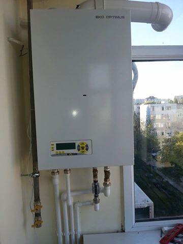Instalare centrale termice conventionale si in condensatie
