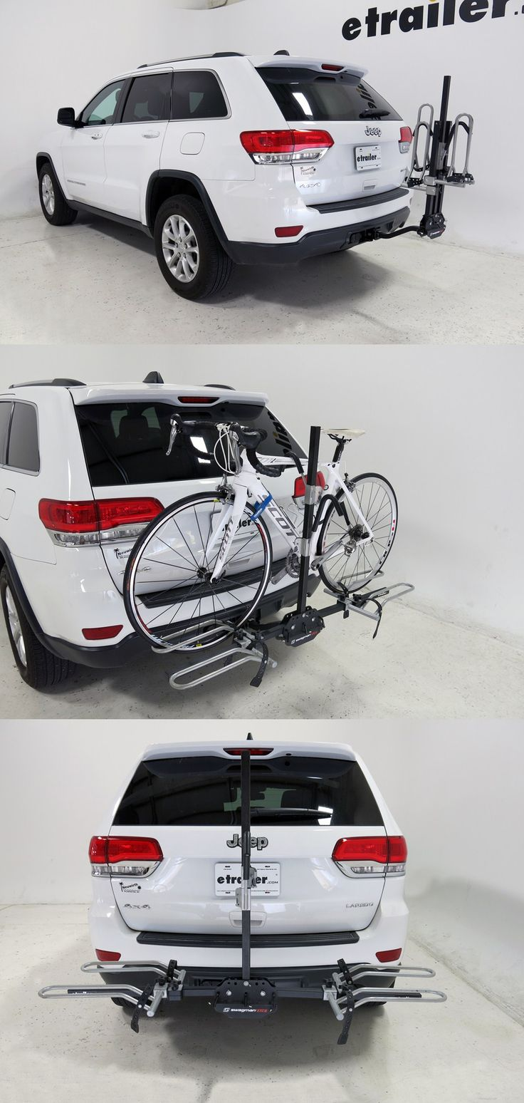 An awesome bike rack for the jeep grand cherokee transports up to 2 bikes to