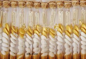 Μπομπονιέρα σε γυάλινo δοκιμαστικό σωλήνα: ΚΩΔ BG010