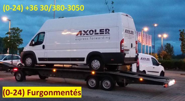 Axoler autószállítás és furgonmentés www.axoler.hu