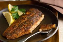 Next to a good old-fashioned shore lunch, this is the next best preparation for your walleye. It's just as easy and just as delicious. The key is to use a hot black-iron. The blackening powder sear…