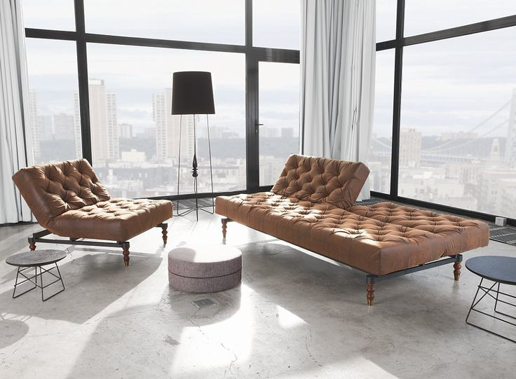 Fresh And Contemporary Chesterfield Sofa From Innovation Living USA With  Multifunctions And Modularity
