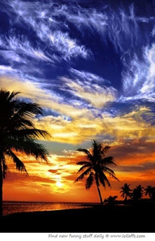 Sunset on Key West Beach, Florida - my ultimate relaxing summer spot (and winter, sprint & fall spot too!) #evoxSummer