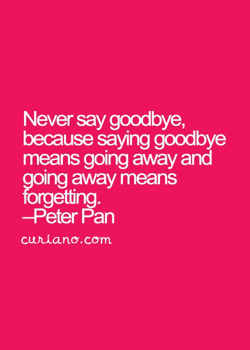 Best 25+ Quotes about goodbye ideas on Pinterest | Saying goodbye ...