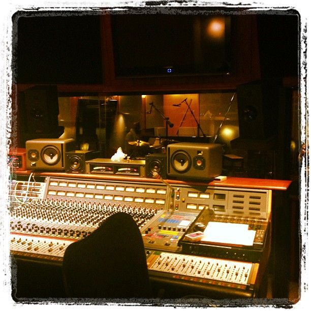 in the #studio --- beautiful #music #equipment