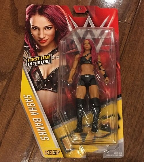 SASHA BANKS Basic Series 59 Mattel WWE NXT Divas Women Superstars RAW - http://bestsellerlist.co.uk/sasha-banks-basic-series-59-mattel-wwe-nxt-divas-women-superstars-raw/