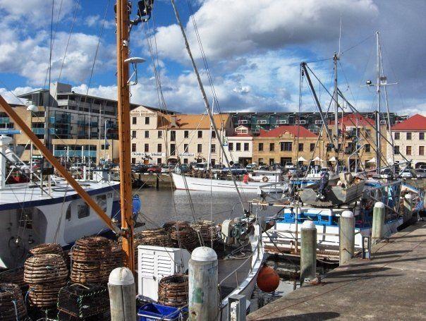 Salamanca Docks, Hobart