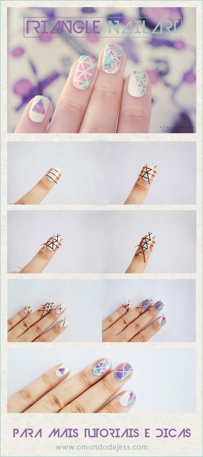 Triangle Nailart -