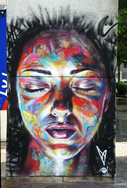 David Walker David Walker New Mural In Vitry, France