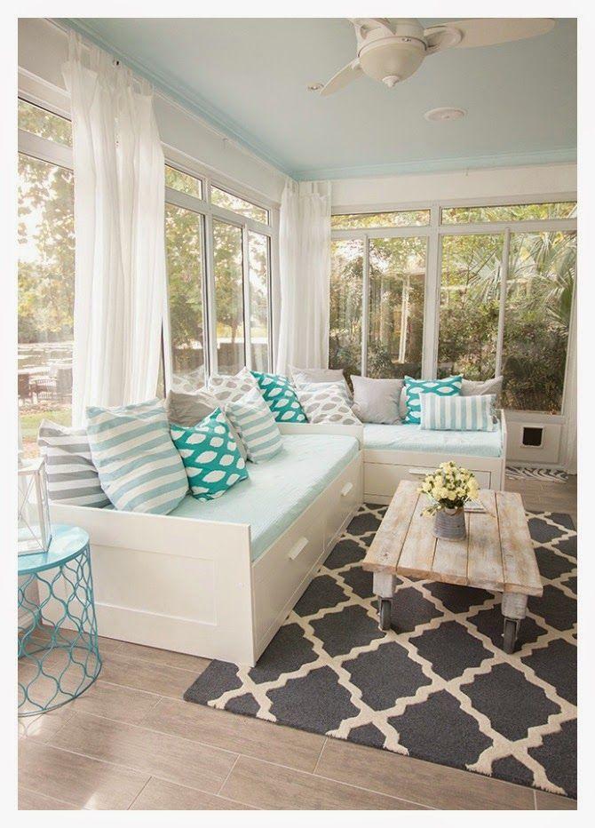 Small&lowcost-Ideas para hacer un sofa (colocar 2 camas)