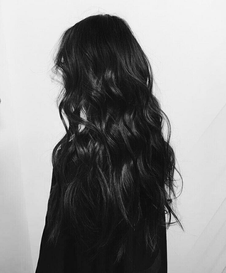 result black hair aesthetic