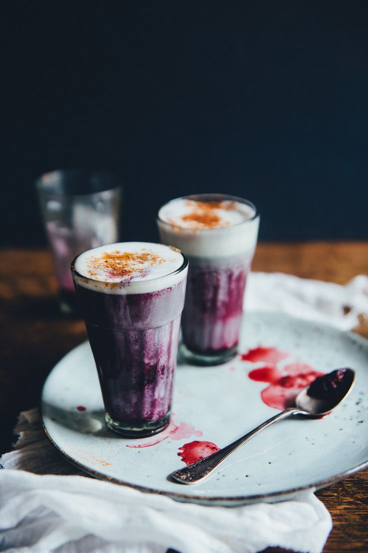 Blueberry Latte - the perfect pick-me-up for those early ...