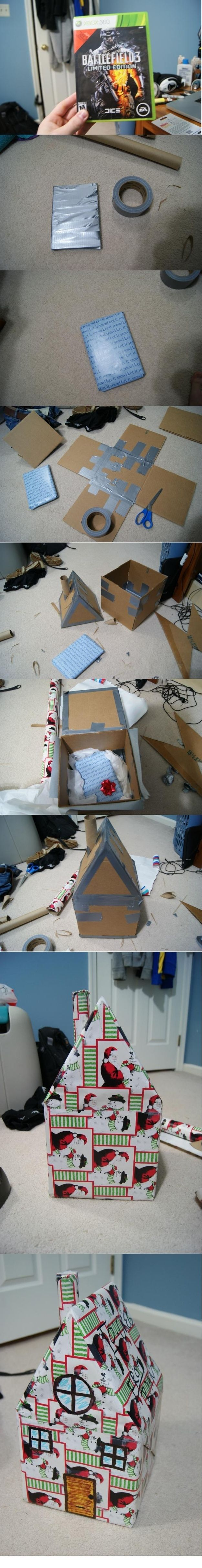 10 People Who Got Outrageously Creative in Wrapping their Presents