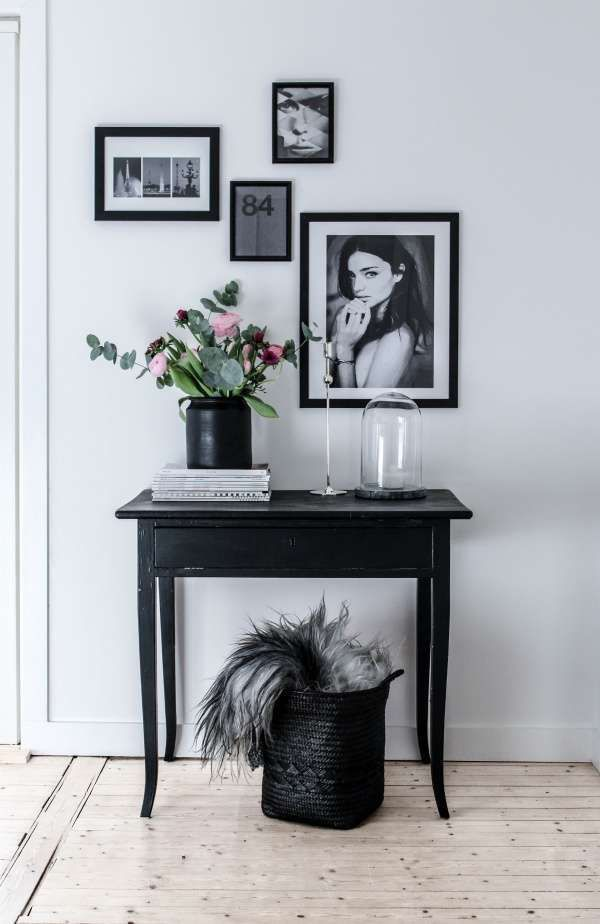 Proving that monochrome doesn't have to be formal.