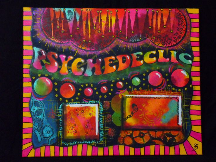 Psychedeclic by Julie Benoist