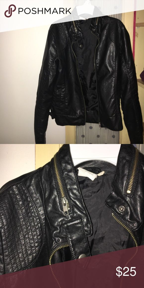 RIPCURL leather Moto Jacket RIPCURL leather Moto Jacket. Size M. NEVER BEEN WORN PERFECT CONDITION Rip Curl Jackets & Coats Utility Jackets