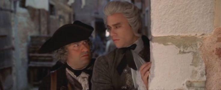 """Lupo [Omid Djalili] & Casanova [Heath Ledger] still from the film """"Casanova""""."""