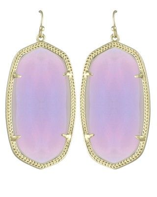 Danielle Earrings in Iridescent Agate - Kendra Scott Jewelry. Available October 16, 2013.