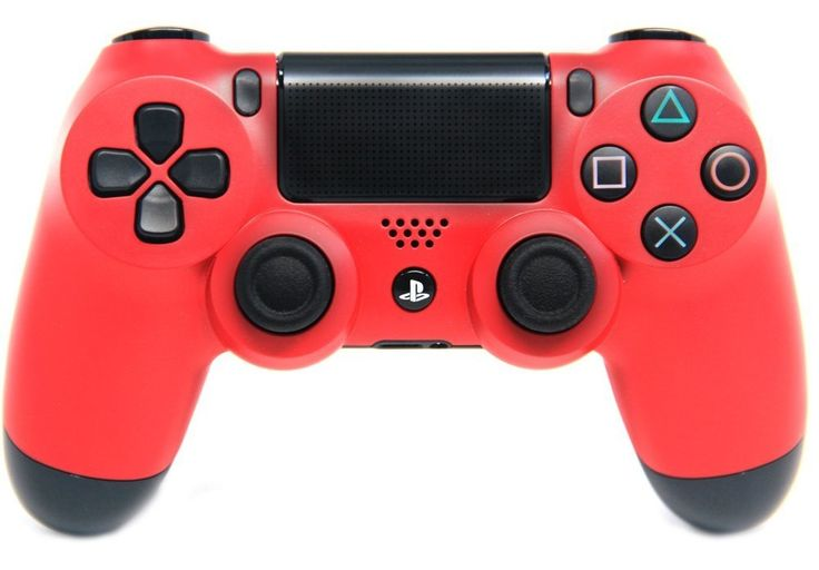 "This is our ""Matte Red"" PlayStation 4 Modded Controller. It is a perfect gift for a special gamer in your life. Order yours today at: http://moddedzone.com/ You can also visit our eBay store at: http://stores.ebay.com/moddedzone/"