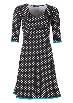 Mania Copenhagen dress CARLA black dots