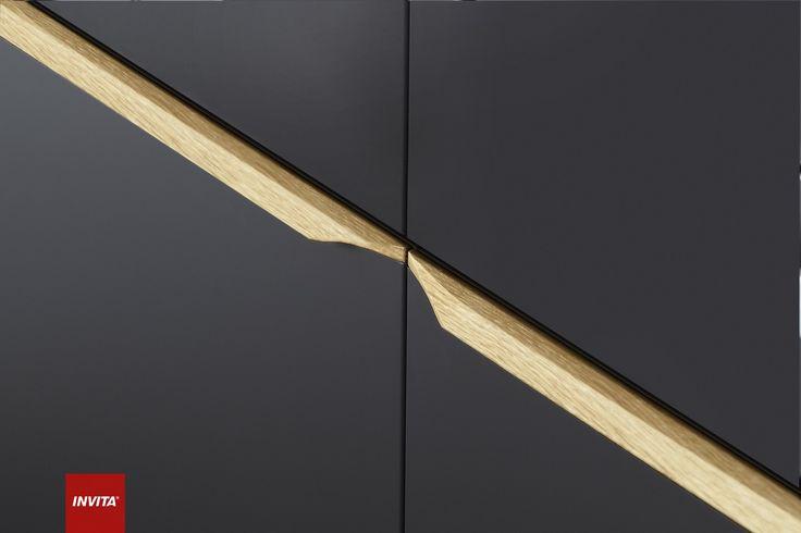 Everline er den nye, mere venlige form for minimalisme, hvor strømlinede glatte flader er kombineret med greb i massivt træ.