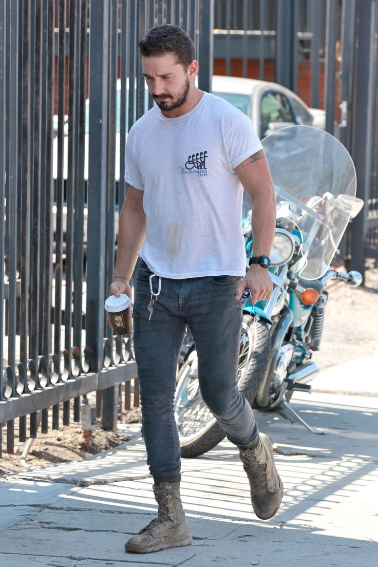 Shia LaBeouf - Leaving the gym in West Hollywood - July 31, 2014 #ShiaLaBeouf