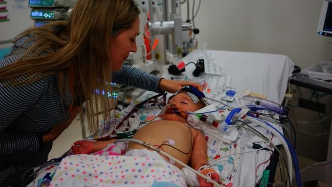 Parents fundraise for hospital ECMO machine after devastating virus tragically kills daughter - NEWS.com.au #757Live