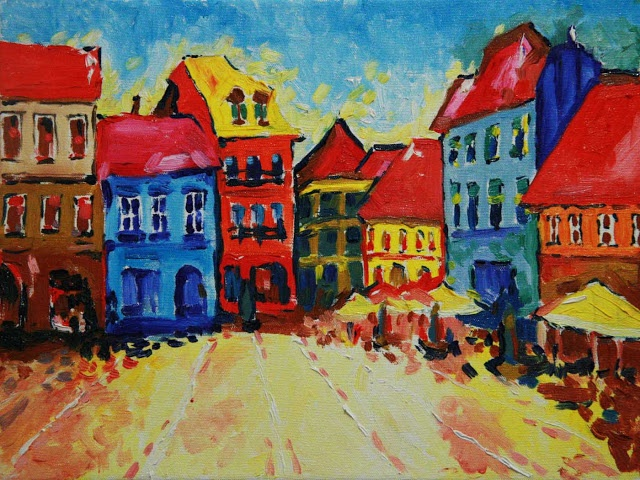 Magda Vacariu Art Blog: cursuri de pictura Brasov   I LOVE THIS  <3