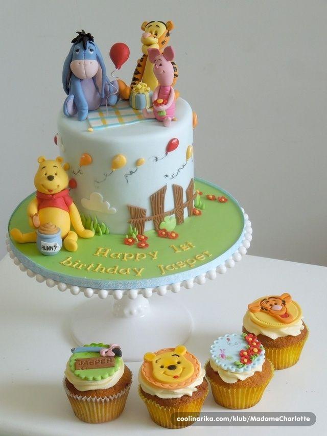 Moja prva Winnie the Pooh torta — Coolinarika