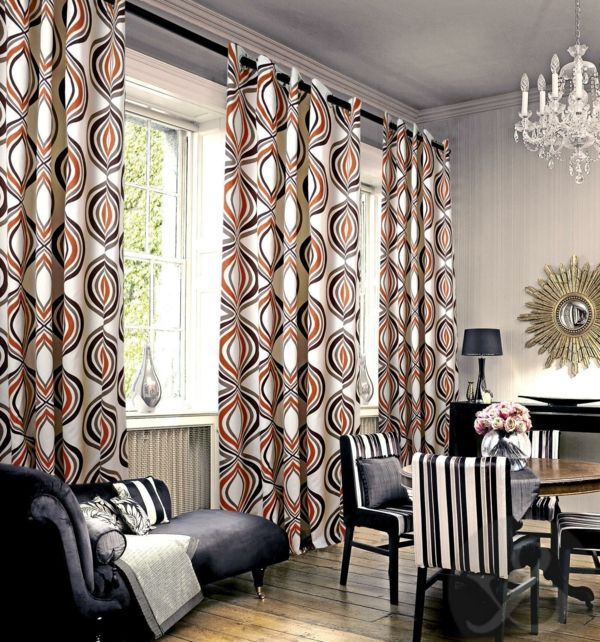 28 best Gardinen images on Pinterest Sheer curtains, Paint and - vorhänge wohnzimmer bilder
