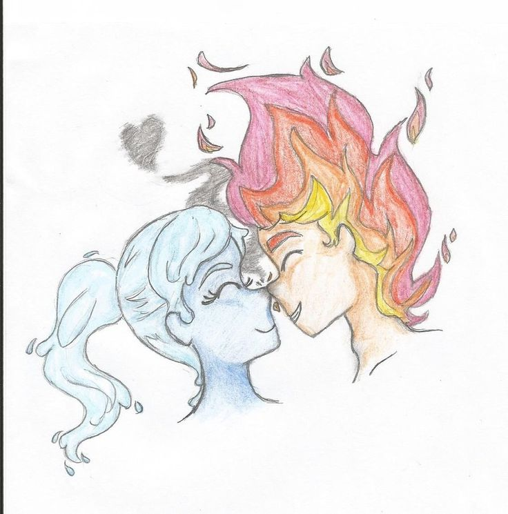 fireboy and watergirl. Where I am at now is so hot. And other places is cold.