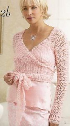 Ravelry: Crochet Ballet Top pattern by Patons