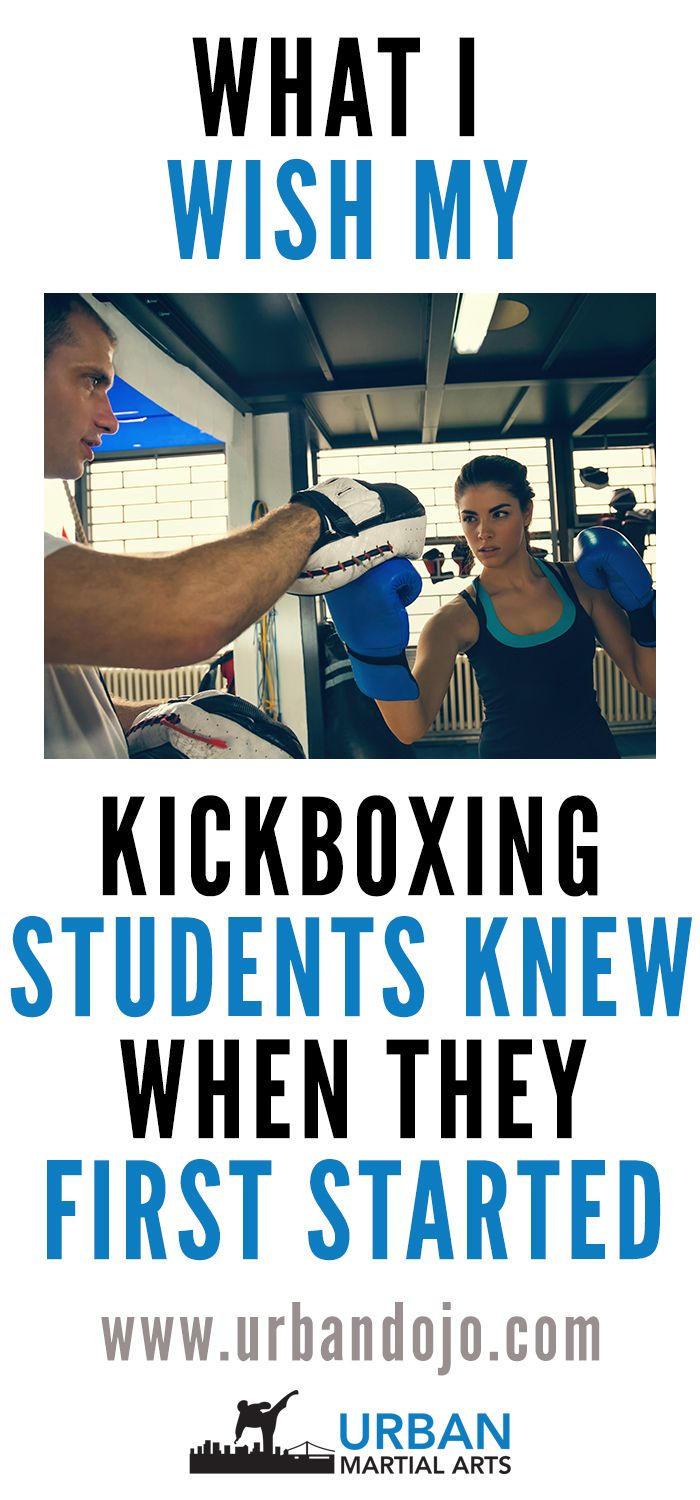 New to kickboxing? Here are 5 things kickboxing students should know when first starting out.