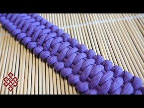 How to Make the Wave Paracord Bracelet Tutorial – YouTube