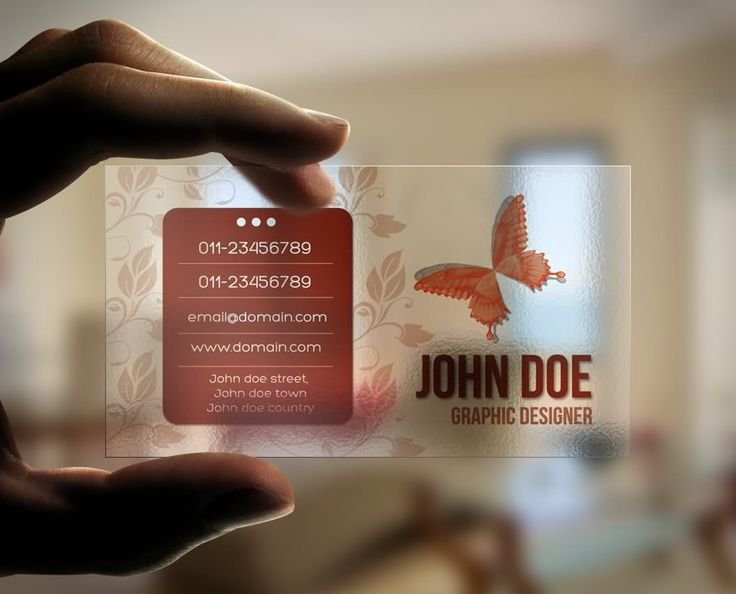 7 best business cards images on pinterest business card design transparent business card cheaphphosting Choice Image