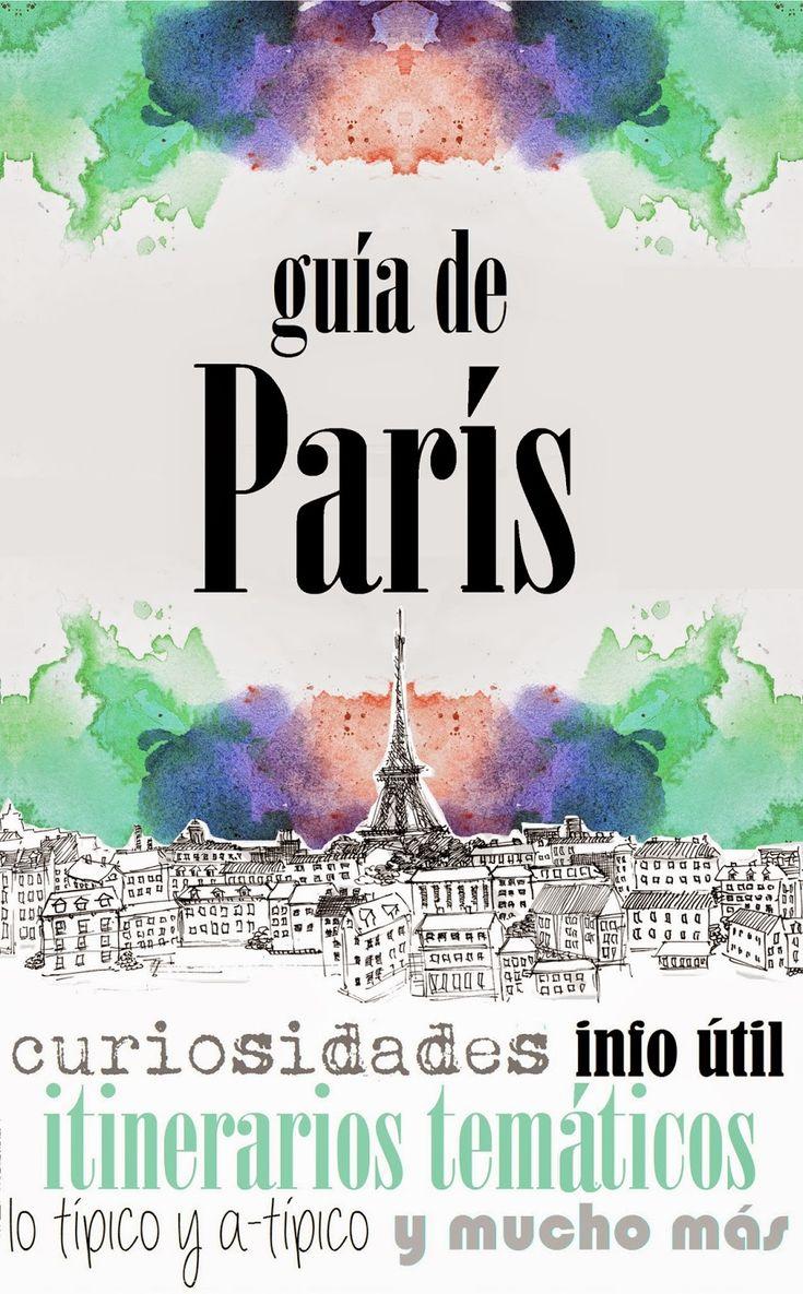 Tras muchas horas de trabajo...ya està aquí nuestro libro sobre PARIS: para viajeros primerizos y reincidentes (con top 10 de Paris, gastronomia, itinerarios tematicos, info util y mucho más...) para más info aquí MOCHILEANDO POR EL MUNDO: LIBRO: GUÍA DE PARÍS