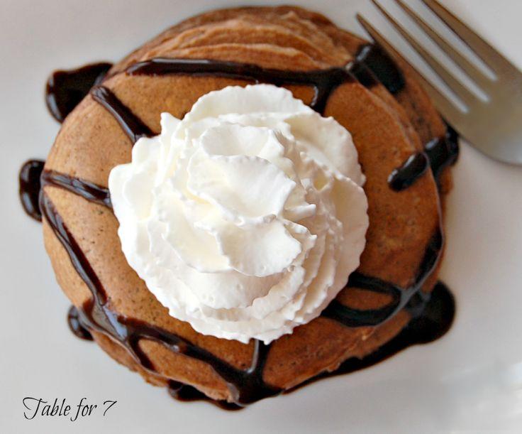 Brownie Batter Pancakes | BROWNIES | Pinterest