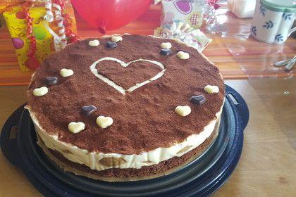 Manus leichte Tiramisu -Torte