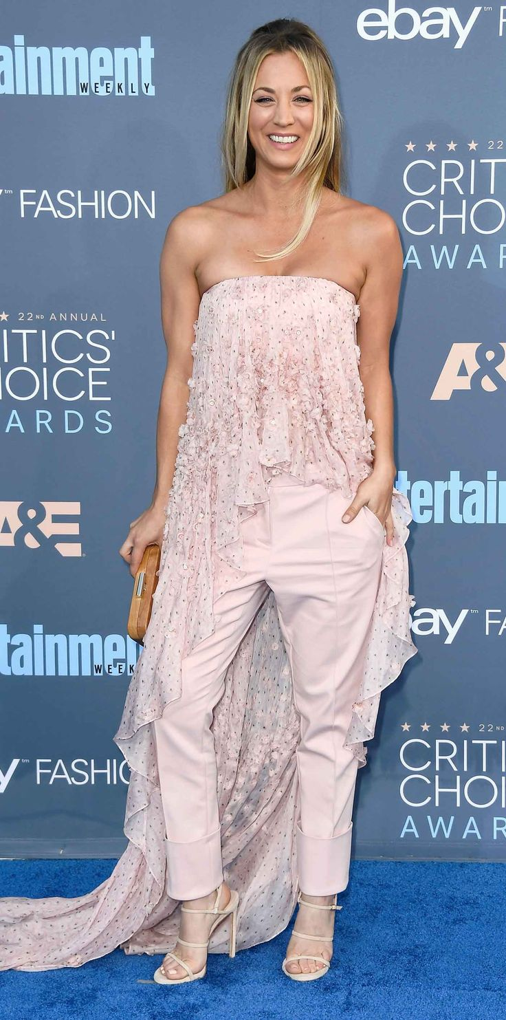 All of the Glam Purple Carpet Seems to be from the Critics' Selection Awards