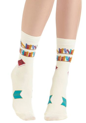 I've Tread Them All Socks, ModCloth - SO cute!!