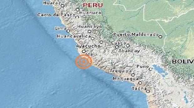 Dos temblores de 4 grados se registraron en la madrugada en Ica