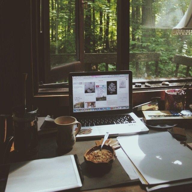 Meu home office!