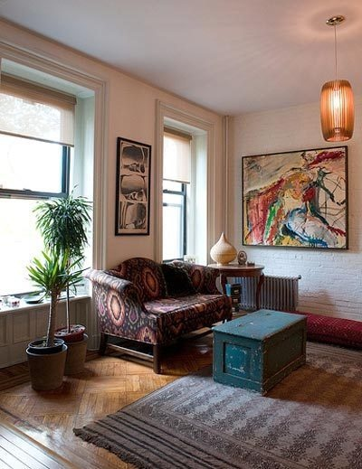 Brooklyn brownstone: Brooklyn Brownstone, Brownstone Living, Apartment Therapy, House Stuff, House Call, Valery S Colorful