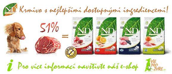 N&D - krmivo pro psy a kočky