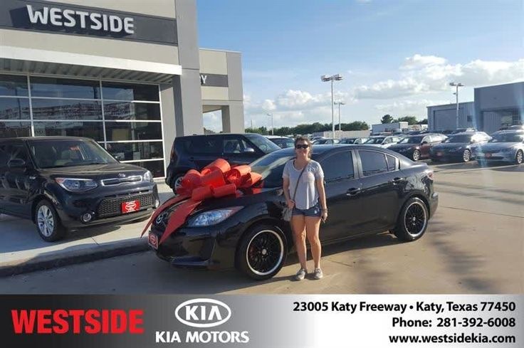 Happy Anniversary to Morgan on your #Mazda #Mazda3 from Antonio Page at Westside Kia!  https://deliverymaxx.com/DealerReviews.aspx?DealerCode=WSJL  #Anniversary #WestsideKia